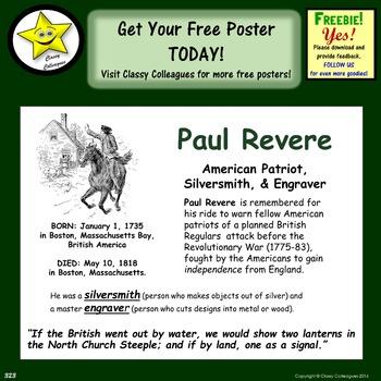 Paul Revere Poster