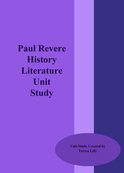 Paul Revere History Literature Unit Study