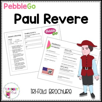 Paul Revere Pebble Go research brochure