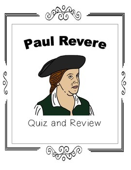 Paul Revere Quiz and Review