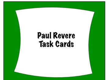 I Have Who Has Paul Revere