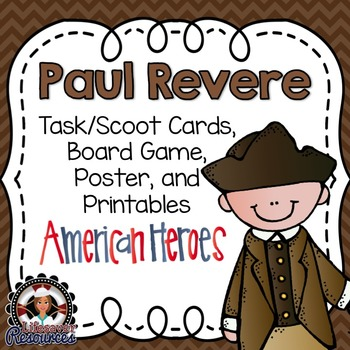 Paul Revere Game and Reading Passage