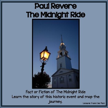 Paul Revere & The Midnight Ride - What is fact?  Illustrat