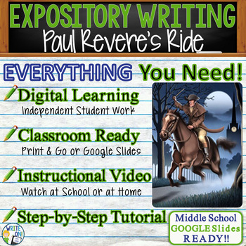 Paul Revere's Ride H. W. Longfellow - Text Dependent Analy