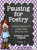 Pausing for Poetry - Understanding Poetry in 10 Minutes a Day