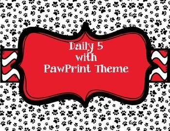 Paw Print Daily 5