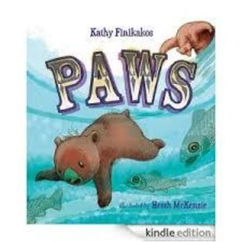 Hard Cover - Paws By Kathy Finikakos - A signed copy of my