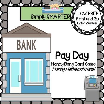 Pay Day:  LOW PREP U.S. Coins Bang Style Card Game