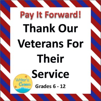 Thank Our Veterans, Writing Ideas, Veterans History Projec