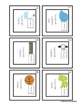 Paying with Coins and Making Change Differentiated Task Cards