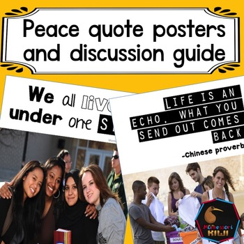Peace Quotes and discussion guide