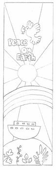 Peace on Earth Bookmark