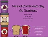 Peanut Butter & Jelly Game: Go Togethers for Speech Therapy