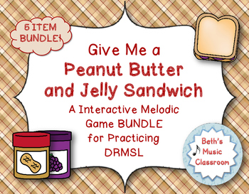 Peanut Butter & Jelly Melodic Interactive Game - 5 Item BU