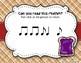 Peanut Butter & Jelly Sandwich Rhythm Reading Game - Synco