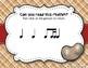Peanut Butter & Jelly Sandwich Rhythm Reading Game - Ti-ti