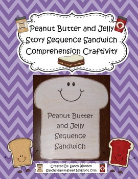 Peanut Butter and Jelly Story Sequence Sandwich Reading Co