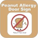 Peanut Free Zone (Peanut Allergies)