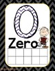 Peanuts Gang, Charlie Brown- Chevron Number Line