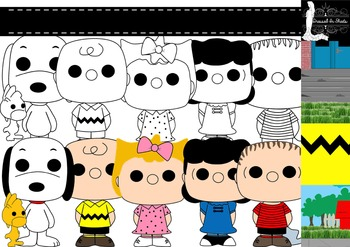 Peanuts Inspired Clip Art