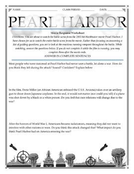 Pearl Harbor Movie Guide + Speech Comparison