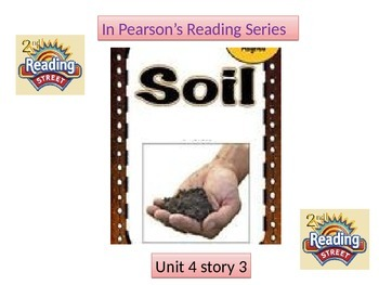 "2nd grade unit 4 story 3 ""Soil"""