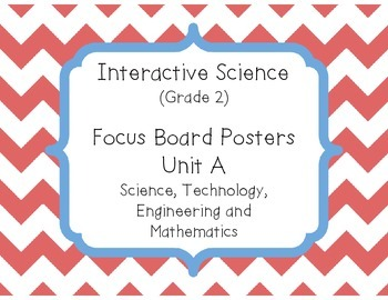 Pearson Interactive Science (Grade 2) Focus Board Posters