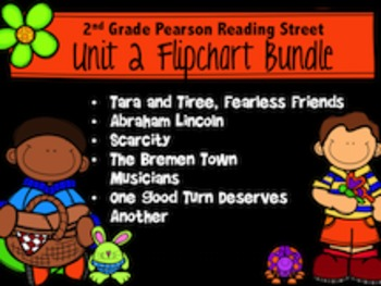 Reading Street Unit 2 Flipchart Bundle 2nd Grade