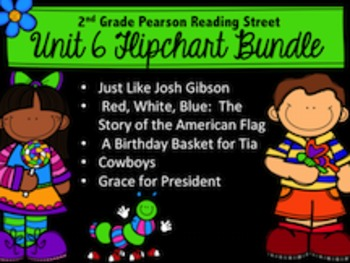 Reading Street Unit 6 Bundle 2nd Grade