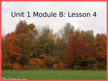 Pearson Ready Gen 2.0 grade 3 powerpoint Unit 1 Module B Lesson 4