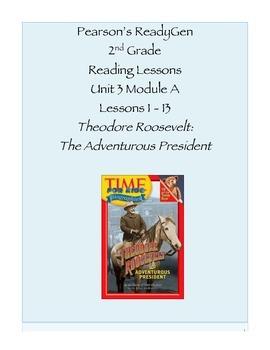 Pearson's Ready Gen 2nd grade, Unit 3 Module A: Lessons 1 - 13