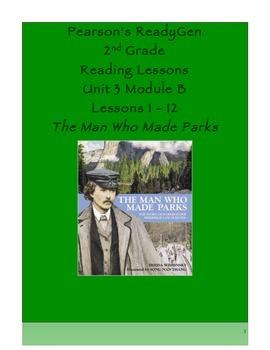 Pearson's Ready Gen 2nd grade, Unit 3 Module B: Lessons 1 - 12