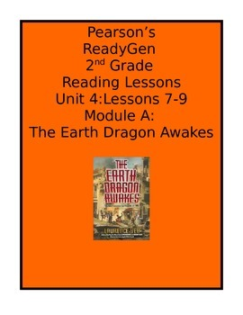 Pearson's Ready Gen 2nd grade, Unit 4 Module A: Lessons 7 - 9