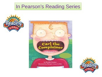 """2nd grade   story 5. 2 """"Carl the Complainer"""" Words"""