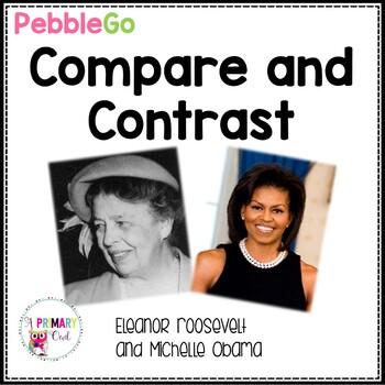Pebble Go: Compare and Contrast Michelle Obama and Eleanor
