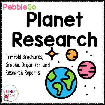 Pebble Go: Planets Research Reports