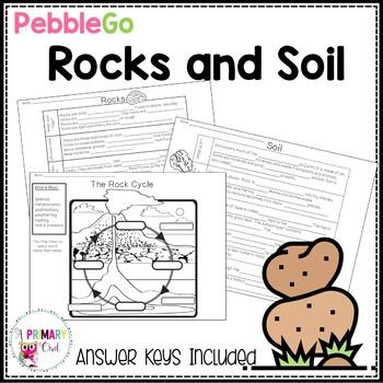 Pebble Go: Rocks and Soil