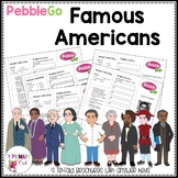 Pebble Go Third Grade Famous Americans Research Brochures