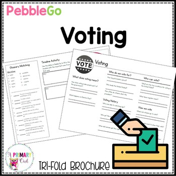 Pebble Go research brochure: Voting