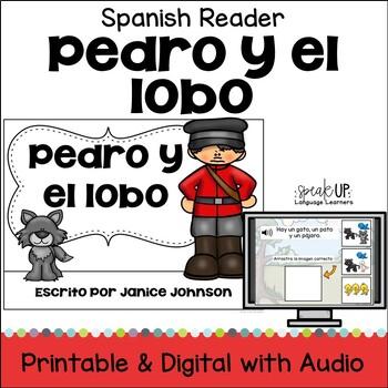 Pedro y el lobo Spanish Peter & the Wolf Reader ~ Simplified