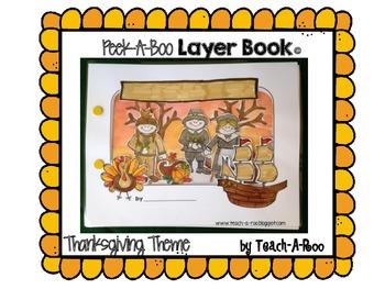 Peek-A-Boo Layer Book: Thanksgiving Theme