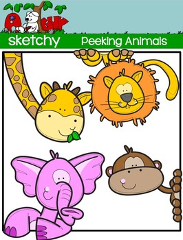 Jungle Animals Clip art