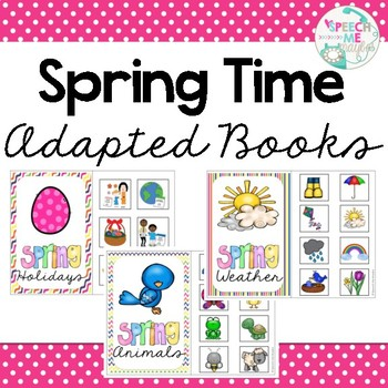 Peeping Into Spring: Interactive Book Bundle