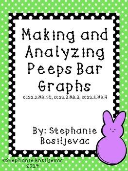 Peeps Bar Graphs