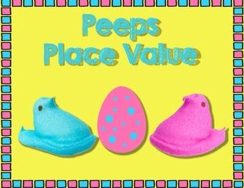 Peeps Place Value (ccss aligned)