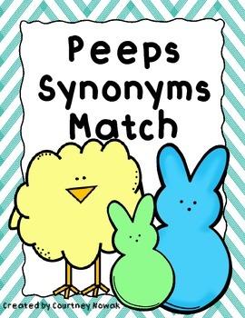 Peeps Synonym Match
