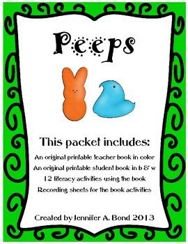 Peeps - an original printable book and activities