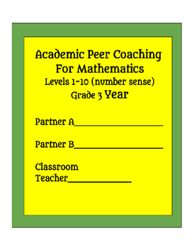 RTI Peer Coaching for Mathematics - Grade 3 Number Sense