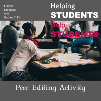 Peer Editing Activity