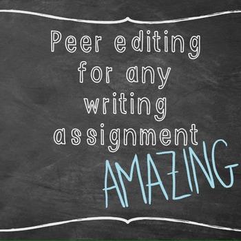 Peer Editing/ Spring Board III ELA